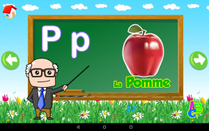 Android Apps for learning : French for Kids