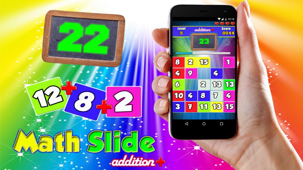 Download Android Apps for Learning : Math Slide Addition